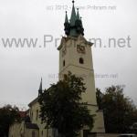 Svatý Jakub kostel Příbram
